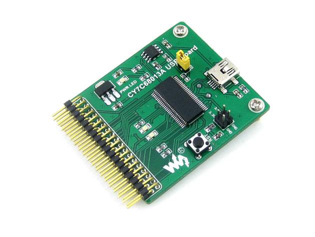 FX2LP-CY7C68013A-USB-Board